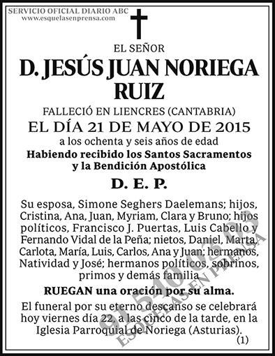 Jesús Juan Noriega Ruiz